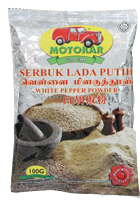 Spices / Seasoning - White Pepper Powder 100g - 180068