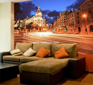 Photo Wall Mural - Wall Mural (Customized) - Madrid