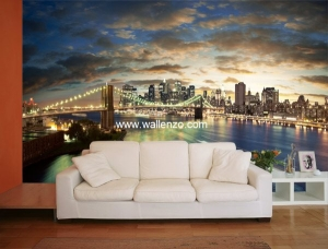 Photo Wall Mural - Wall Mural (Customized) - Cityscape