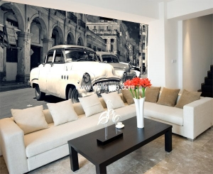 Photo Wall Mural - Wall Mural (Customized) - Habana
