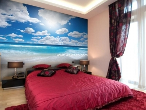 Photo Wall Mural - Wall Mural (Customized) - Beach