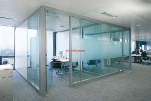 Office Renovation & Partition - Renovation & Partition - Glass Panel Partition